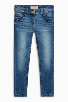 Frill Pocket Skinny Jeans (3-16yrs)