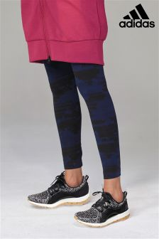 adidas Navy Printed Legging