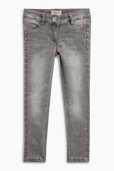 Stud Skinny Jeans (3-16yrs)