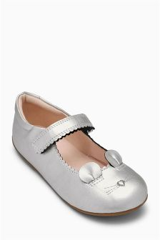 Mary Jane Mouse Shoes (Younger Girls)