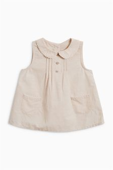 Ric Rac Trim Blouse (3mths-6yrs)