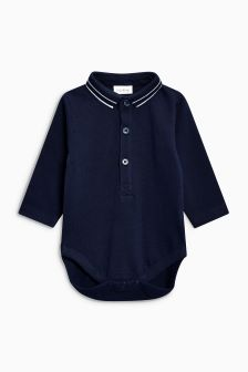 Long Sleeve Shirt Body (0mths-2yrs)