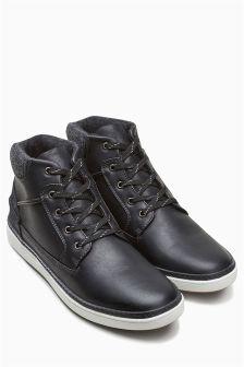 Rib Collar Boot