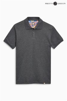 Pretty Green Hartford Short Sleeve Logo Polo