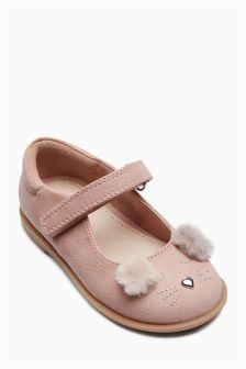 Bear Mary Jane Shoes (Younger Girls)