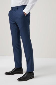 Teksturirana moška obleka: hlače