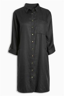 Tencel® Shirt Dress