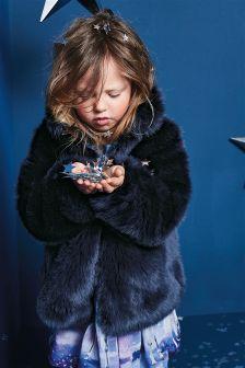 Faux Fur Jacket (12mths-6yrs)