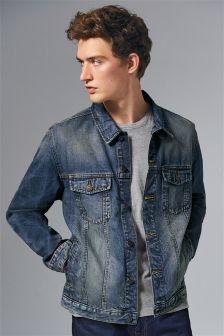 Джинсовая куртка в стиле вестерн