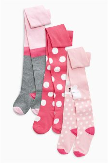 Character Tights Three Pack (0mths-6yrs)
