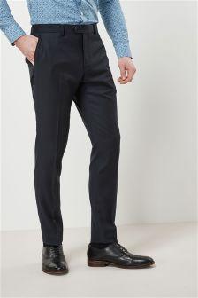 Teksturirana oprijeta moška obleka: hlače