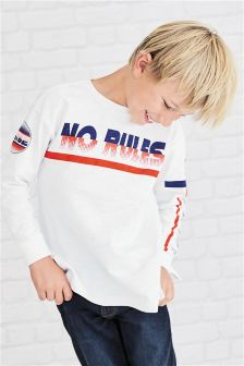 No Rules Long Sleeve Top (3-16yrs)