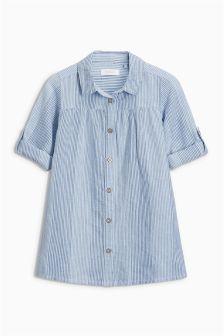 Pinstripe Shirt Dress (3mths-6yrs)
