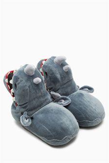 Kapcie w kształcie nosorożca 3D