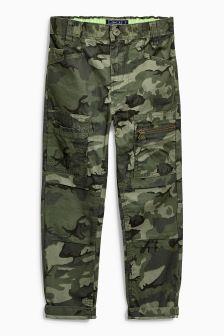 Camo Trousers (3-16yrs)