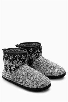 Fairisle Pattern Boot