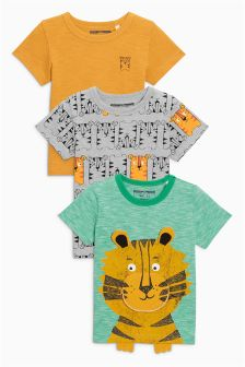 Short Sleeve T-Shirts Three Pack (3mths-6yrs)