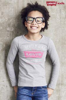 Levi's® Grey Long Sleeve T-Shirt