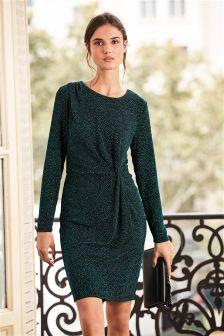 Glitter Twist Dress