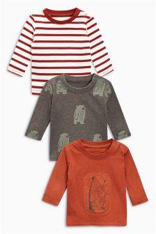 T-Shirts Three Pack (0mths-2yrs)