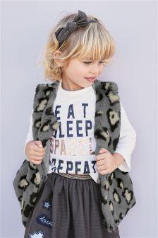 Faux Fur Gilet (12mths-6yrs)