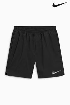 Czarne krótkie spodenki Nike Run 7 cm Flex Challenger z nadrukiem