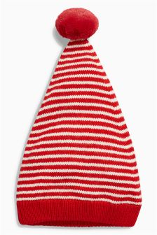 Stripe Knitted Hat (0mths-2yrs)