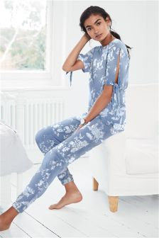Cotton Jersey Short Sleeve Pyjamas