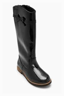 Tall Bow Boots (Younger Girls)