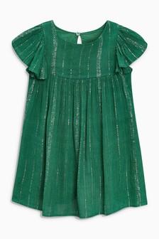 فستان براق (3 أشهر -6 سنوات)