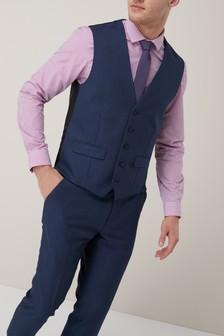 Текстурированный костюм: жилет