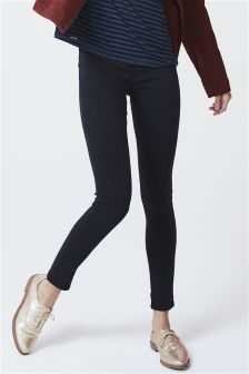 Pull-On Denim Leggings