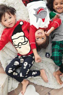 Santa Snuggle Fit Pyjamas (9mths-8yrs)
