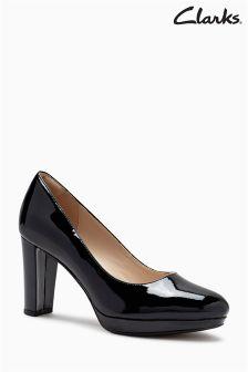 Clarks Kendra Sienna Cushion Plus Platform Court Shoe