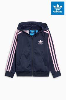 adidas Originals Navy/Pink Hoody