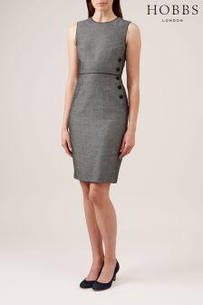 Hobbs Ivory/Navy Juliet Dress