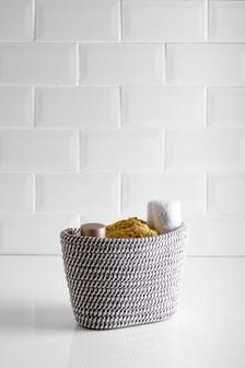 Woven Cotton Basket