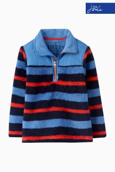 Joules Multi Stripe Half Zip Fleece