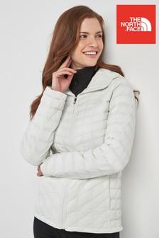 Biała bluza z kapturem The North Face® Thermoball