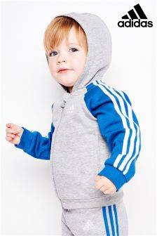 adidas Infant Raglan Zip Hoody