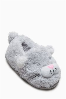 Cat Character Slippers (Younger Girls)