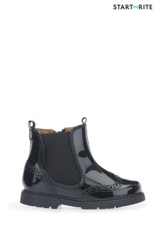 Start-Rite Black Patent Chelsea