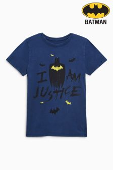 Batman® Washed T-Shirt (3-14yrs)
