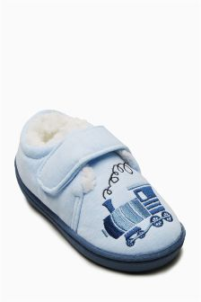 Train Slippers (Younger Boys)