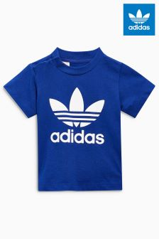 adidas Originals Infant Navy Trefoil Tee