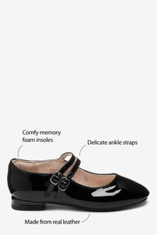 Patent Heeled Mary Jane Shoes (Older Girls)