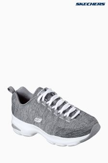 Skechers® Grey Classic Elite Trubuck Lace Up Air Cooled Memory