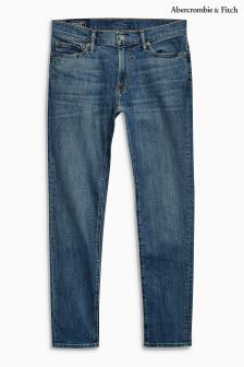 Abercrombie & Fitch Mid Wash Super Slim Jean