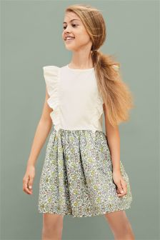 Ruffle Print Dress (3-16yrs)