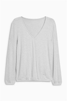 Supersoft Ballet Wrap Top